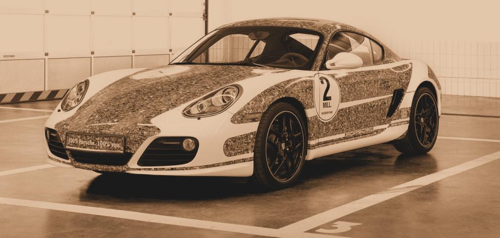 2,000,000 Porsche Facebook fans sf_sepia