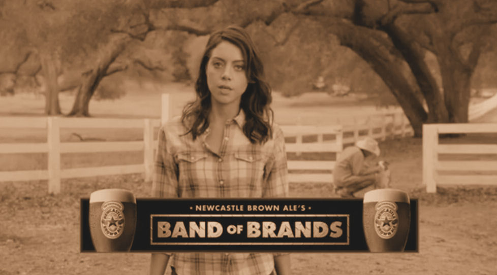 newcastle band of brands cover sepia